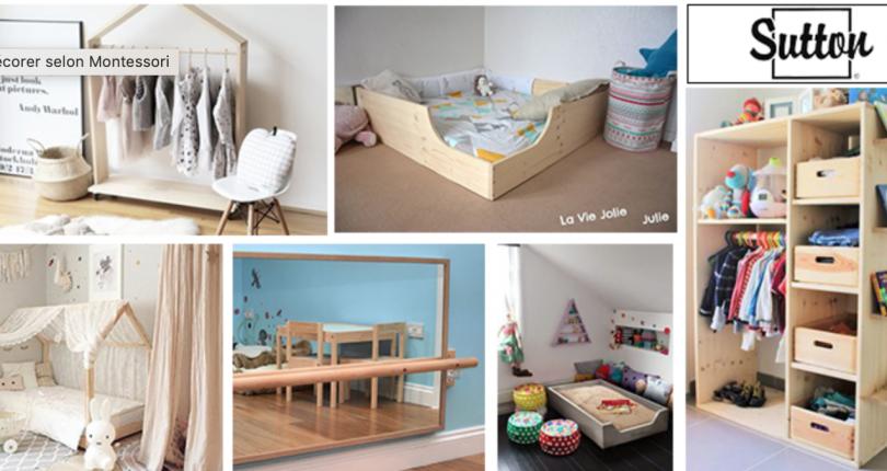 Comment décorer une chambre d'enfant selon la pédagogie Montessori?